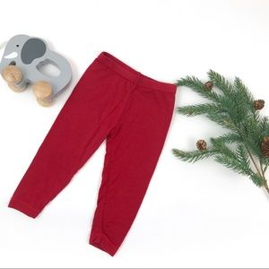Kickee Pants Red Pants